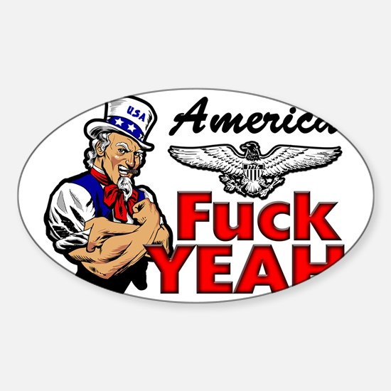 AMERICA2 Sticker (Oval)
