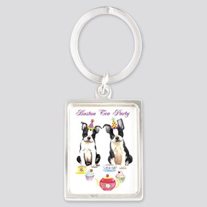 boston tea party Portrait Keychain