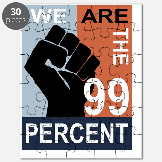 16x20_print_occupy wall street poster Puzzle