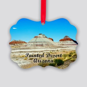 Colorful Painted Desert Picture Ornament