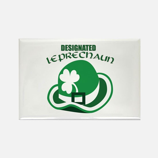 Designated Leprechaun Rectangle Magnet