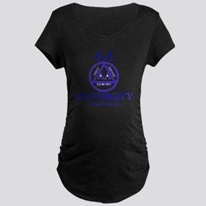 aa-university16 Maternity Dark T-Shirt