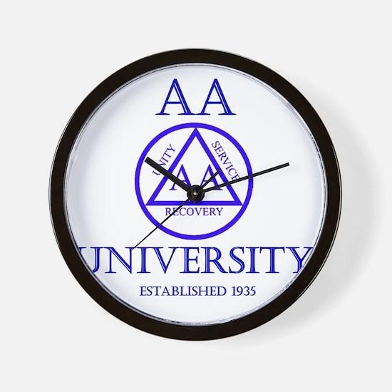 aa-university16 Wall Clock