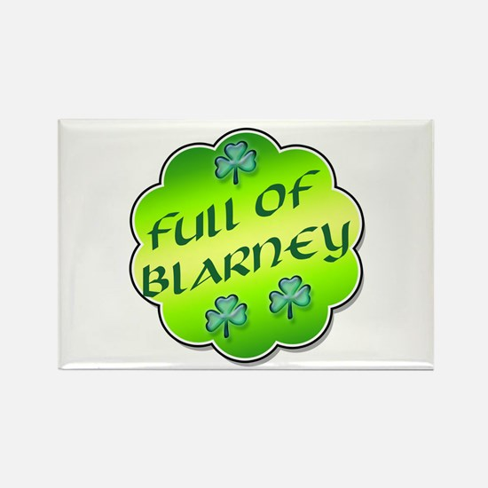 Full of Blarney Rectangle Magnet