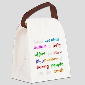 Autism teacher Canvas Lunch Bag
