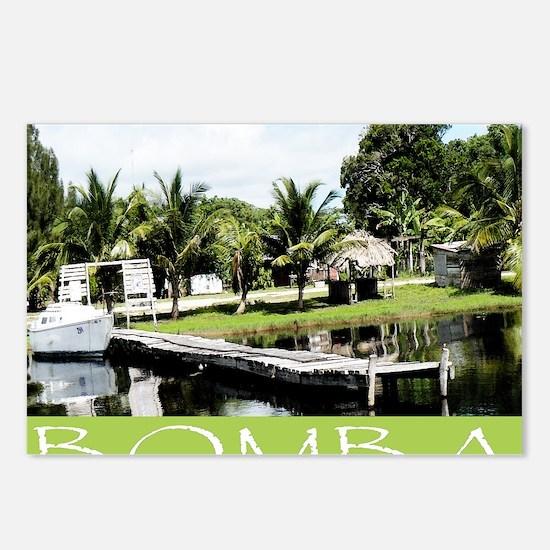 Bomba Villave, Belize Postcards (Package of 8)