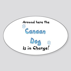 Canaan Charge Oval Sticker