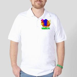 1yearoldtoday! Golf Shirt