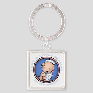 seaman-womb-DKT Square Keychain