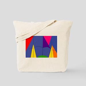 Geometric Rises Tote Bag