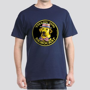 New Yellow Dog Democrat Dark T-Shirt 7