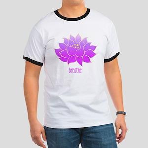 breathe lotus Ringer T