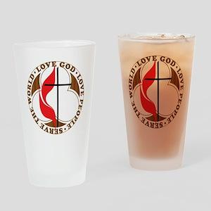 logosolid-print Drinking Glass