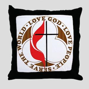 logosolid-print Throw Pillow