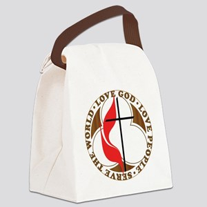 logosolid-print Canvas Lunch Bag