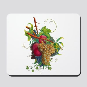 Jean Louis Prevost Grapes and Peaches Mousepad