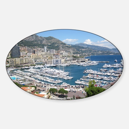 Monte Carlo Sticker (Oval)