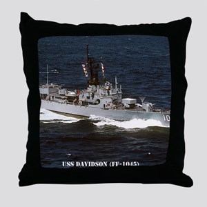 davidson ff framed panel print Throw Pillow