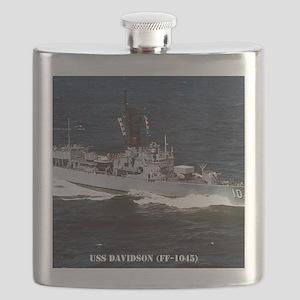 davidson ff framed panel print Flask