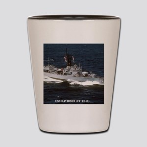 davidson ff framed panel print Shot Glass