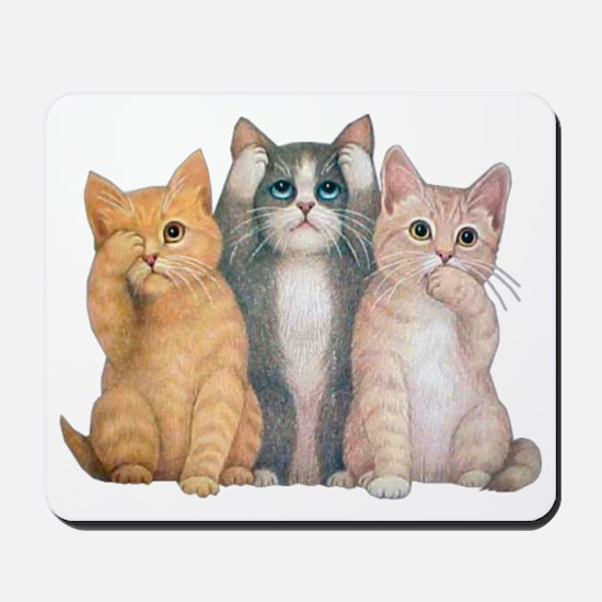 hearseesaypuzzle Mousepad