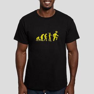 shuffl_evo Men's Fitted T-Shirt (dark)