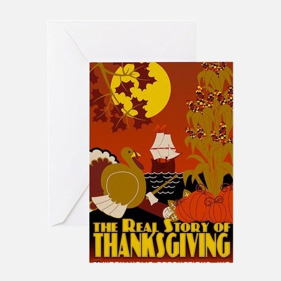 RS_Thanksgiving_7x10 Greeting Card