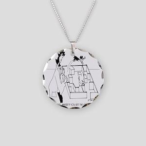 5406_lab_cartoon Necklace Circle Charm
