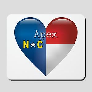 Love Apex North Carolina Mousepad