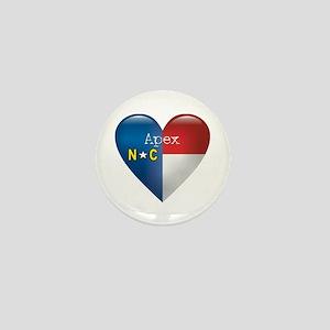 Love Apex North Carolina Mini Button