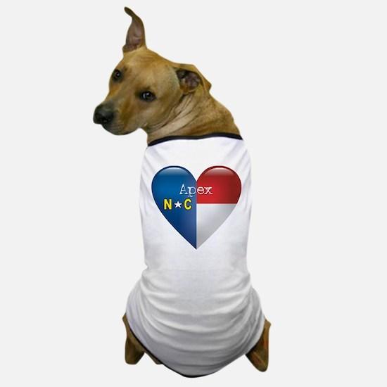 Love Apex North Carolina Dog T-Shirt