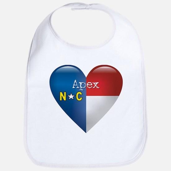 Love Apex North Carolina Bib