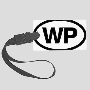 WP Large Luggage Tag