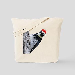 Acorn Woodpecker Bird T-Shirt Tote Bag