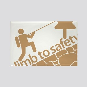 Don't Panic, Climb to Safety Rectangle Magnet