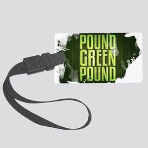 POUNDGREEN_cp Large Luggage Tag