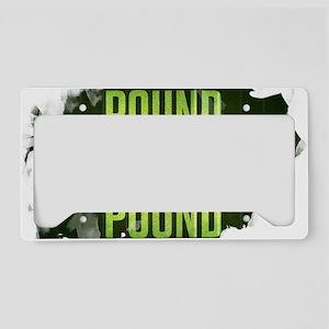 POUNDGREEN_cp License Plate Holder