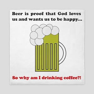 beer coffee mug3 Queen Duvet