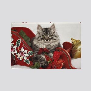 Kiddo Christmas Card 2Front Rectangle Magnet