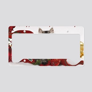 Kiddo Christmas Card 2Front License Plate Holder