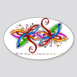 laptop_skin Sticker (Oval)
