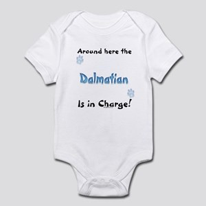 Dalmatian Charge Infant Bodysuit