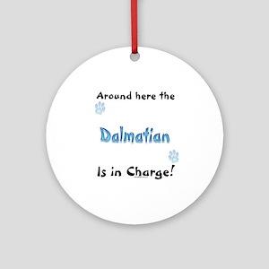 Dalmatian Charge Ornament (Round)
