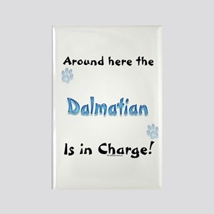 Dalmatian Charge Rectangle Magnet