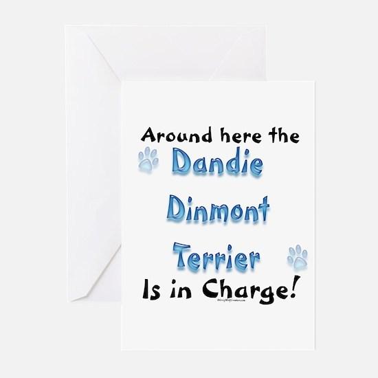 Dandie Charge Greeting Cards (Pk of 10)