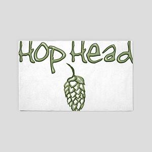 hopheadfinal 3'x5' Area Rug