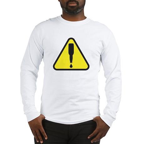 beer-danger-WHT Long Sleeve T-Shirt