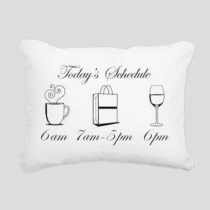 wine1 Rectangular Canvas Pillow