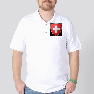 2000px-Swiss-coat_of_arms (583x640) Golf Shirt