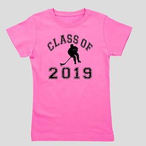 Class Of 2019 Hockey - Black 2 D Girl's Tee